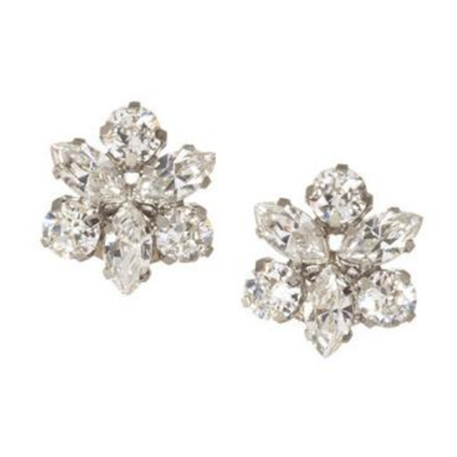 【Elizabeth Bower】Juliette Stud Clear ピアス