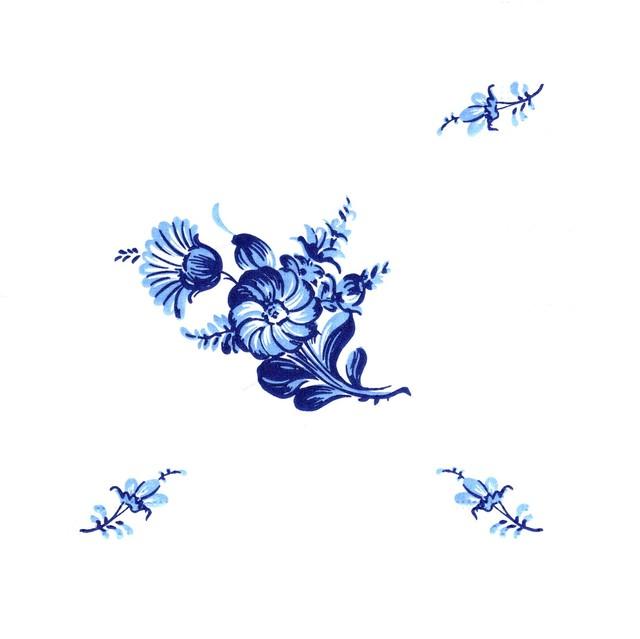 【ROYAL COPENHAGEN】バラ売り1枚 ランチサイズ ペーパーナプキン BLUE FLOWER ブルー