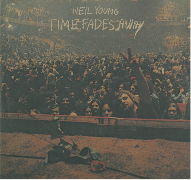 NEIL YOUNG / TIME FADES AWAY (LP) 日本盤