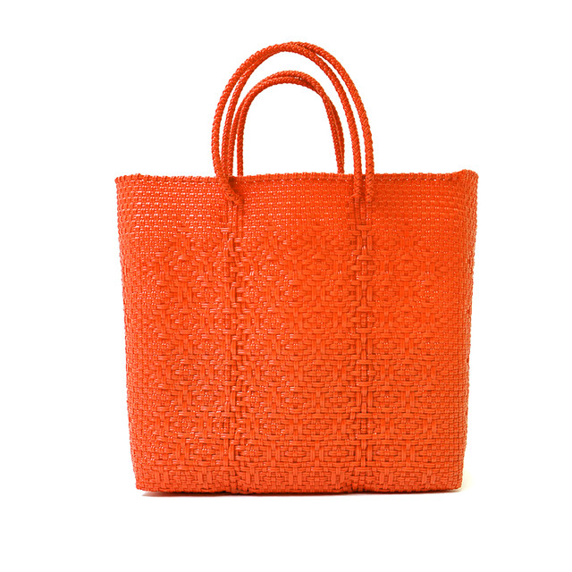 MERCADO BAG ROMBO - Orange(M)