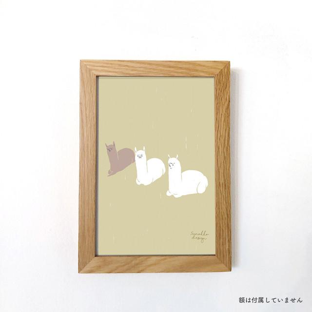 A5アートポスター [ムシャムシャ]