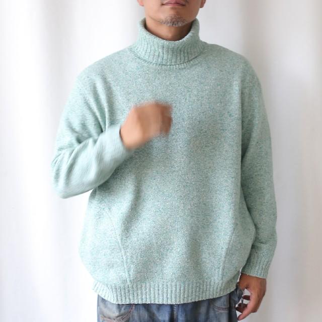 410008_Color scheme Cardigan(ミスト×ブラウン)