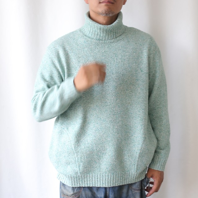 420004_Reverse Rough Pullover(グレー)