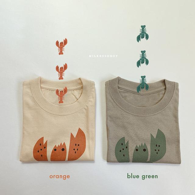 kids t-shirt 【lobster】