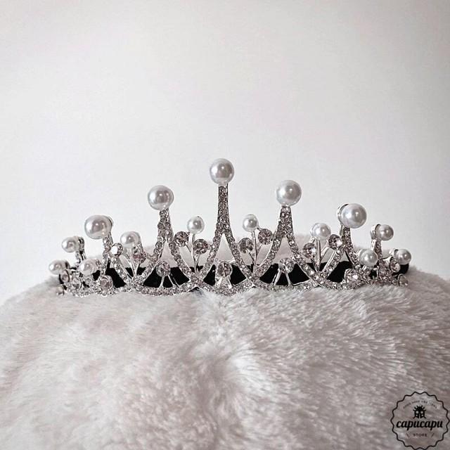 «即納» pearl tiara  パールティアラ
