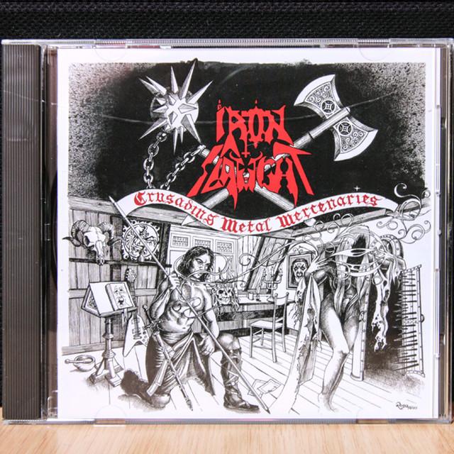 IRON SLAUGHT『Crusading Metal Mercenaries』CD