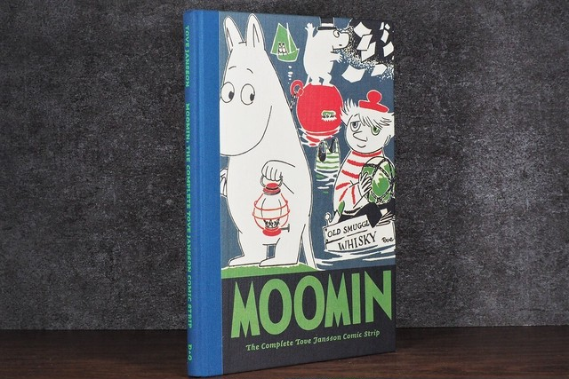 【VA240】Moomin 4: The Complete Tove Jansson Comic Strip /visual book