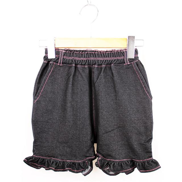 MEI KIDS KNIT DENIM SHORT PANTS(KME-000-166018)