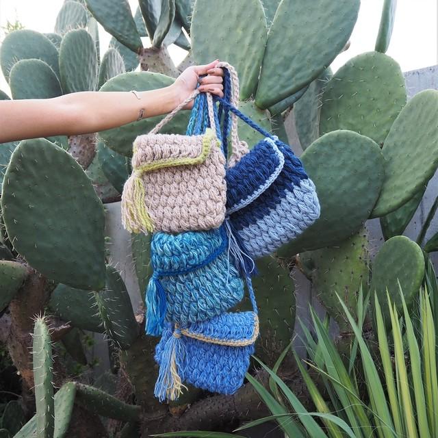 Knit Pochet《BEG/BLU/NVY/BGRN》18380683