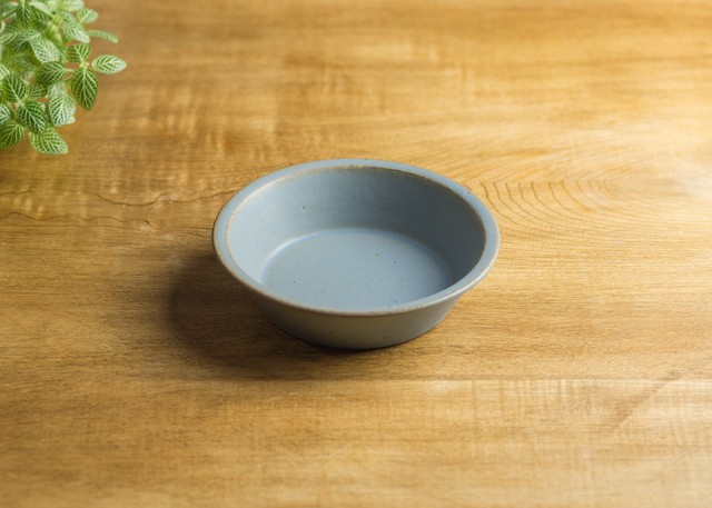 SHIROUMA 浅鉢 15cm 灰色 深皿 ボウル 耐熱/長谷川 哲也