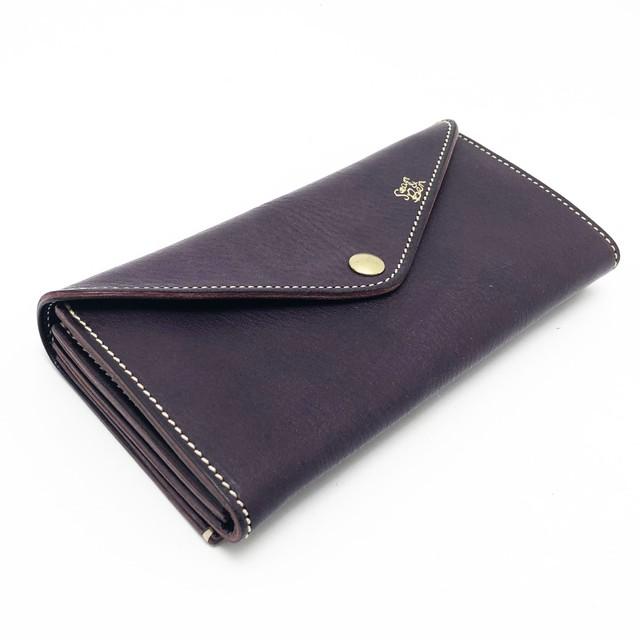 Sean&Ben Long Wallet In Purple - Purple Rain -