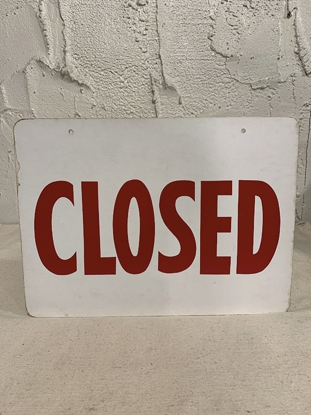 """SIGN BOARD  """" OPEN or CLOSED """""""