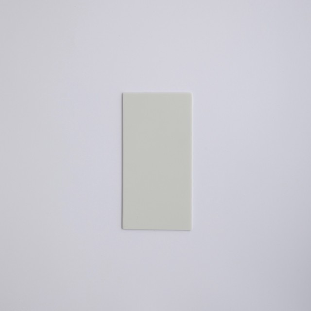 Blanc / square plate 24half
