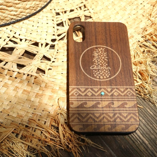 wood iPhone X