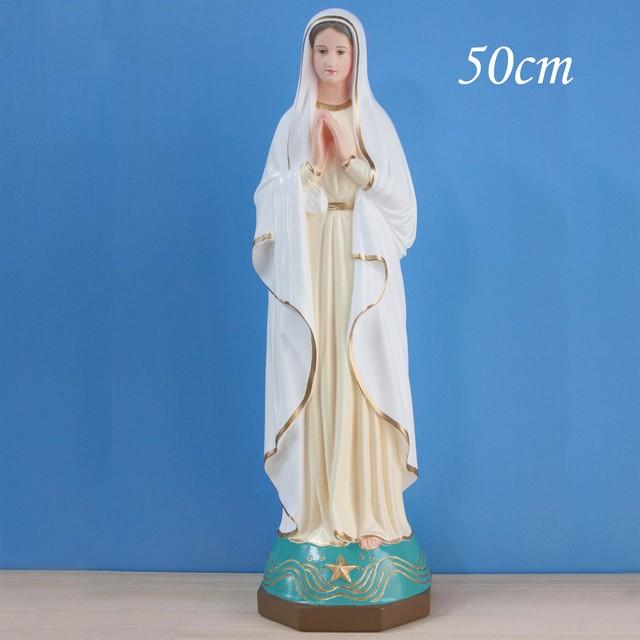 海の星の聖母像【50cm】室内用カラー仕上げ