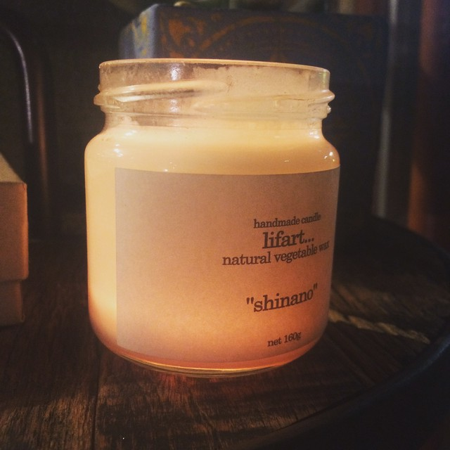 handmade candle lifart...(リファート) fragrance candle