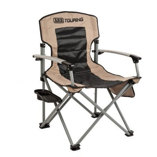 ARBツーリングキャンプチェア 折り畳みキャンプチェアテーブル付き 10500101