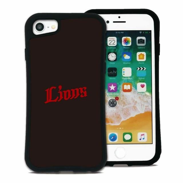 西武ライオンズ  ワードマーク セット WAYLLY(ウェイリー) iPhone 8 7 XR XS X 6s 6 Plus XsMax対応!_MK_