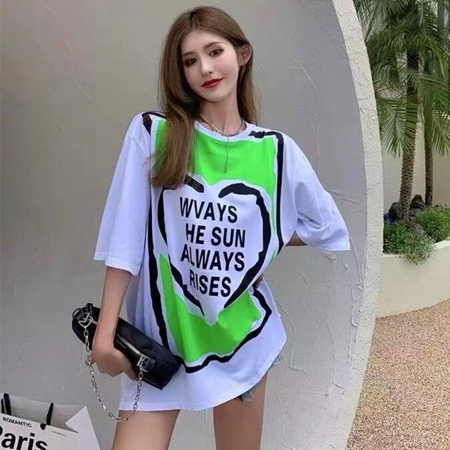 【トップス】シンプルファッションストリート系カジュアル半袖Tシャツ49564599