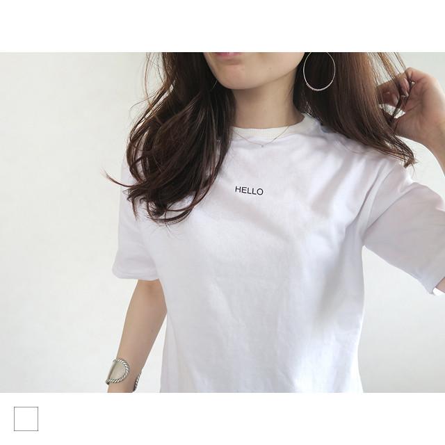 HELLO Tシャツ|A04078