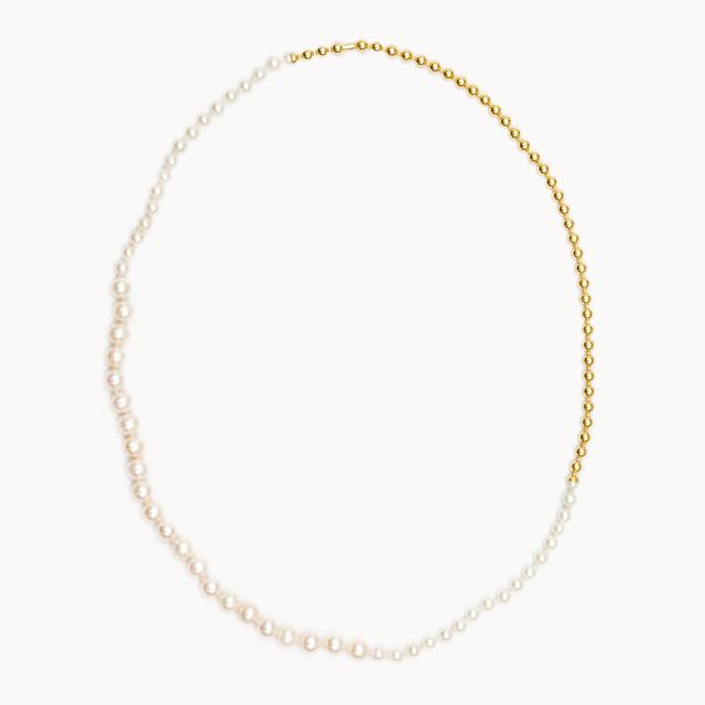 Ball Chain / Pearl Necklace GD [Picchiettare]