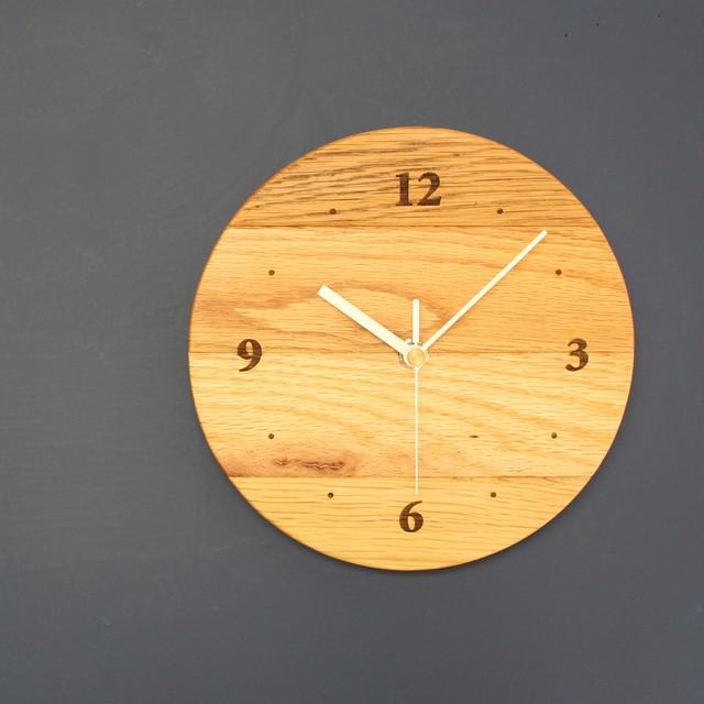 古材の時計
