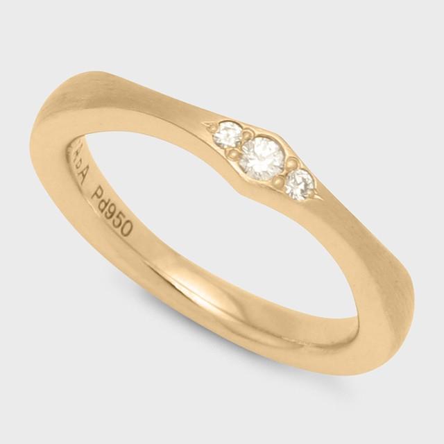 PORTADA BABY RING AIRE(LADY'S MODEL)K18YG( ポルターダ ベビーリング アイレ レディースモデル K18イエローゴールド ダイヤモンド)