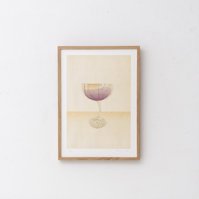 『arche』 glass redwine