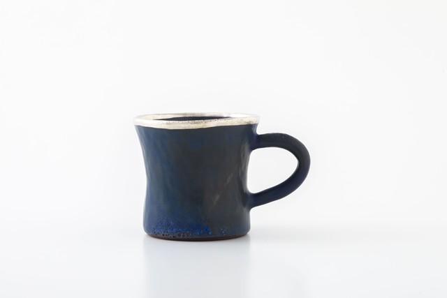 diner mug:銀縁(05-2) / holk store × 中囿義光