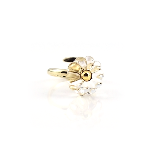 """flower cushion_ring """"pure ice"""""""
