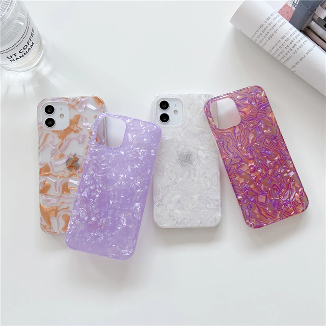 4 shell patterns iphone case