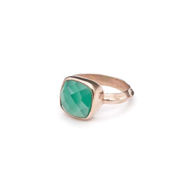 SINGLE STONE NON-ADJUSTABLE RING 027