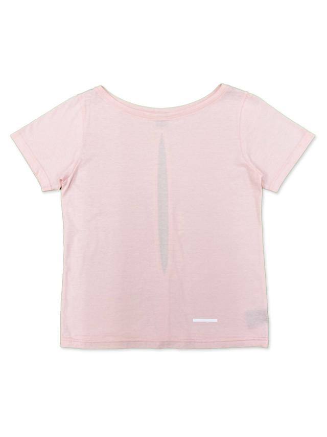 バックスリットTシャツ  HPX-W21012  ピンク