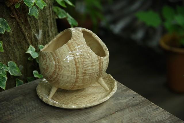 COCO植木鉢(三つ足)④【佐野 有子】
