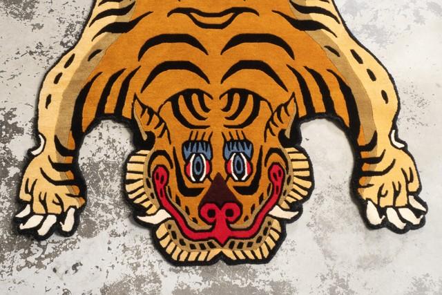 Tibetan Tiger Rug 《Lサイズ•ウール061》チベタンタイガーラグ