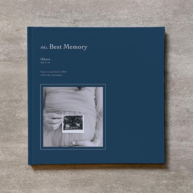 Monochrome-MATERNITY_B5スクエア_6ページ/6カット_フォトブック