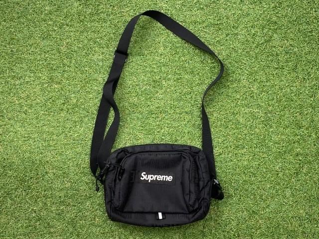 Supreme 19SS SHOULDER BAG BLACK 60KF6926