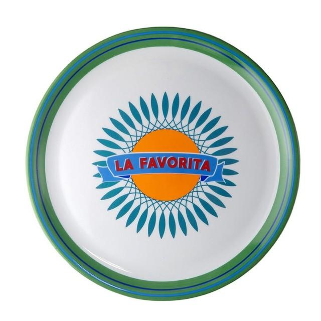 BITOSSI HOME - Pizza Plate - Bel Paese LA FAVORITA
