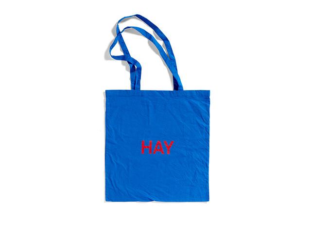 【HAY ヘイ】BLUE TOTE BAG ブルートートバッグ