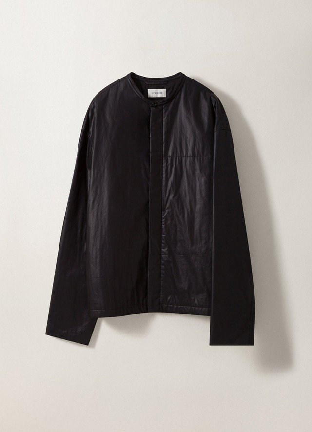 LEMAIRE WADDED BLOUSON Black M 203 OW166 LF146