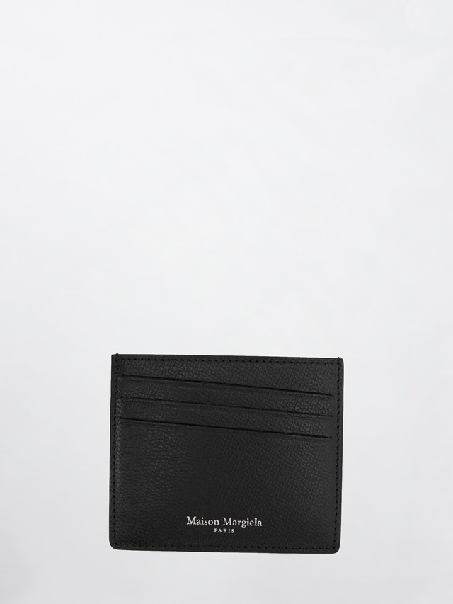 MAISON MARGIELA Card Holder(P0399) Black S35UI0432
