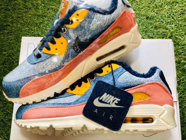 NIKE × LEVIS BY YOU AIR MAX 90 26.5cm  235II9888