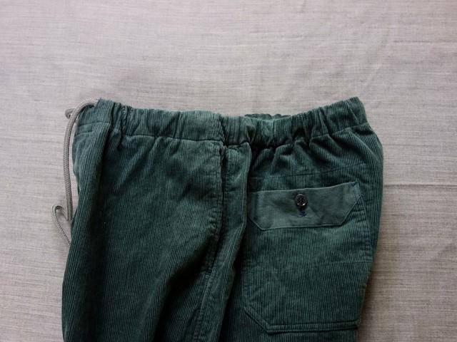 da corduroy easy pants / antique-dustmint