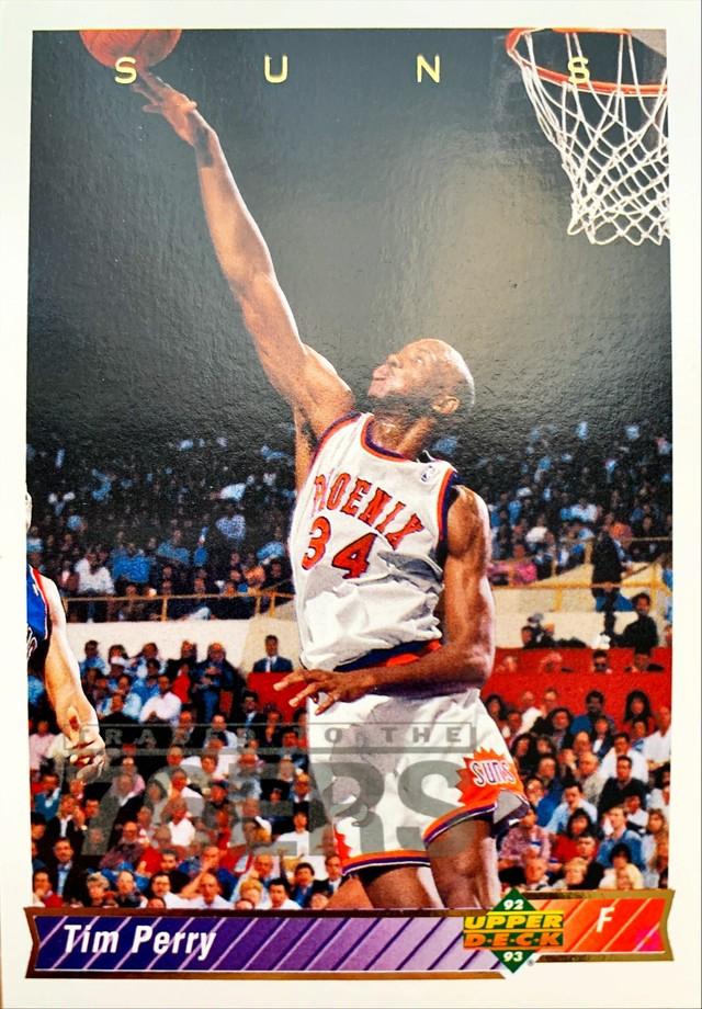 NBAカード 92-93UPPERDECK Tim Perry #31 SUNS
