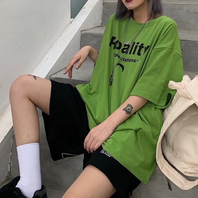 RoalityグリーンTシャツ / HWG134