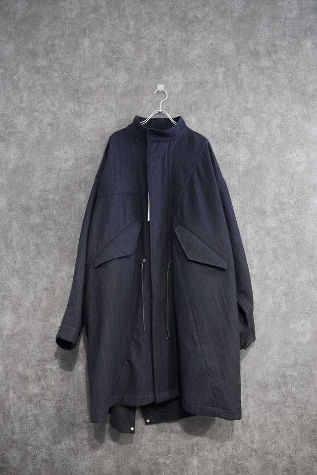 my beautiful landlet washable wool mods coat   navy
