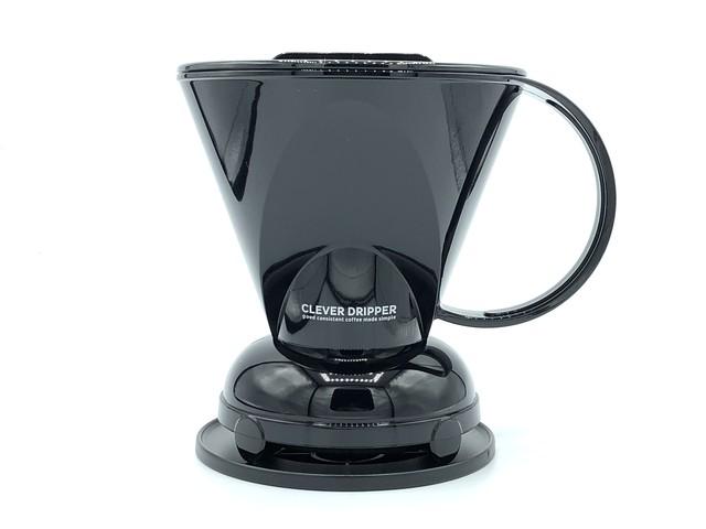 BLACK Clever Coffee Dripper (L size) / 黒色 クレバー コーヒードリッパー(Lサイズ)*