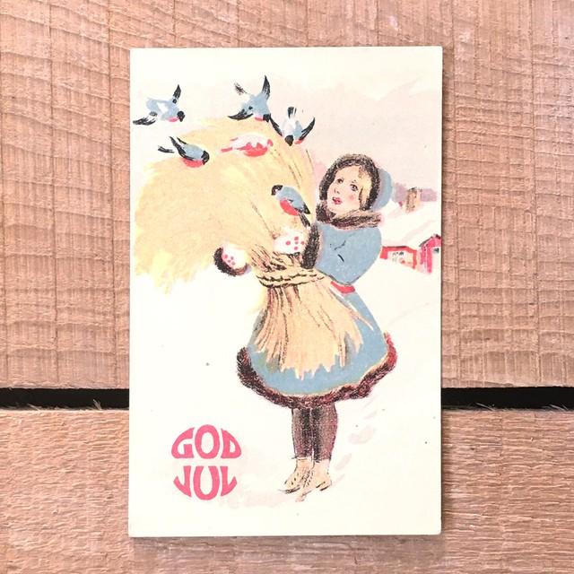 ミニ・クリスマスカード「作者不明」《200324-15》