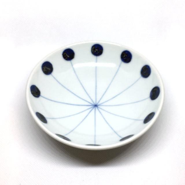 【砥部焼/五松園窯】5寸鉢(ヨーヨー)