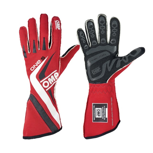IB/755E/NW ONE-S GLOVES BLACK/WHITE/GREY